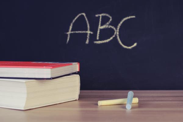 abc alphabet blackboard 265078